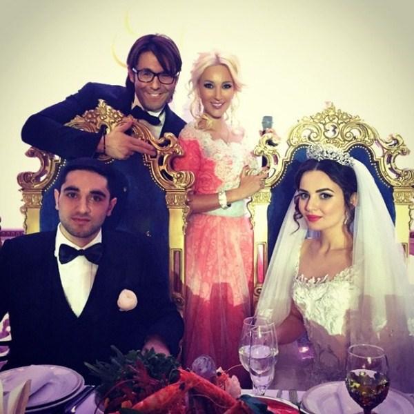 Андрей Малахов и Лера Кудрявцева подрабатывали на свадьбе в Краснодарском крае.