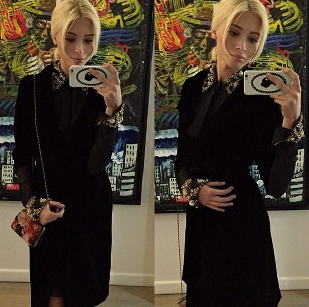 Алена Шишкова (23) просто выглядела божественно.