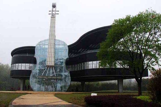 Дом «рояль со скрипкой». Китай.
