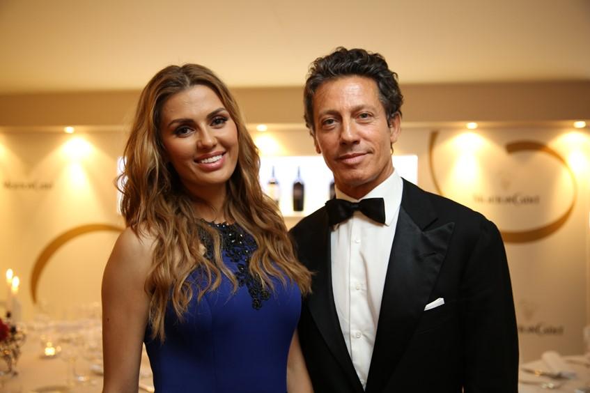 Виктория Боня с другом