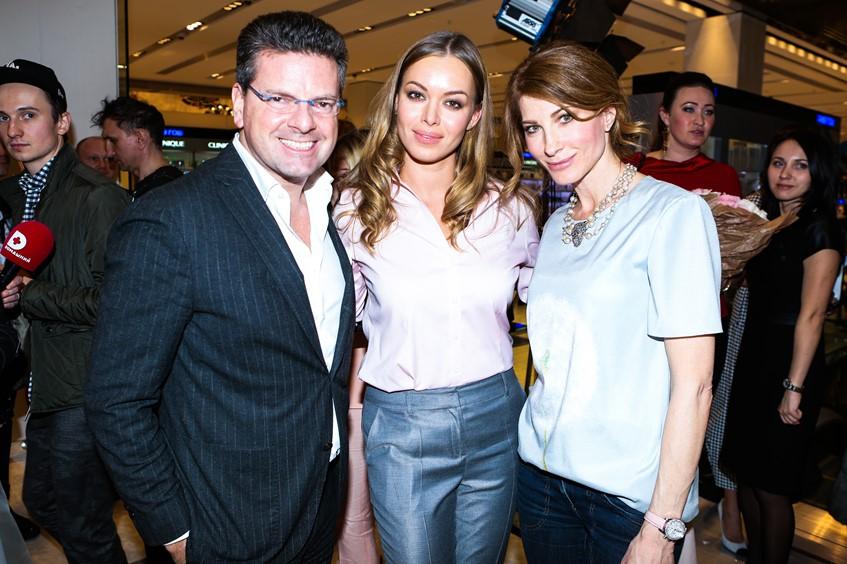 Константин Андрикопулос, Анастасия Романцова и Ольга Цыпкина