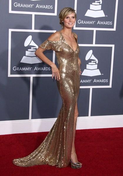 Актриса Хайди Клум (41) 2011 год.