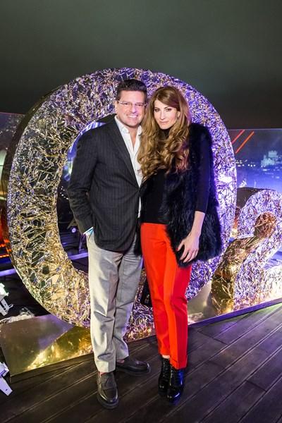 Константин Андрикопулос и Ольга Цыпкина