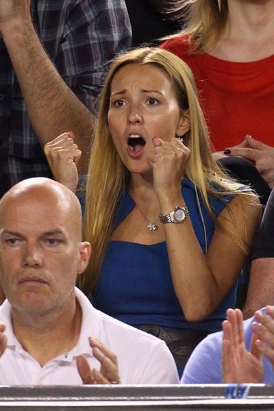 Филантроп Елена Ристич (28), жена первой ракетки мира в одиночном разряде, теннисиста Новака Джоковича (27).