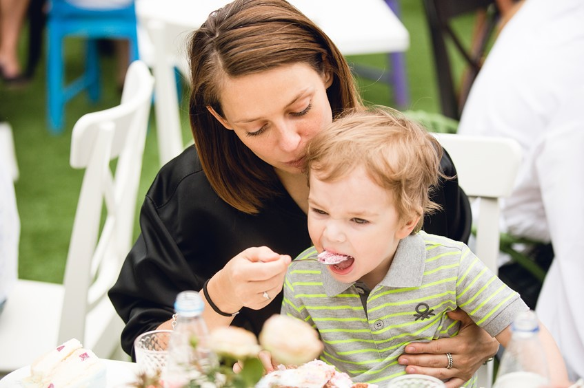 Елена Манакай с сыном