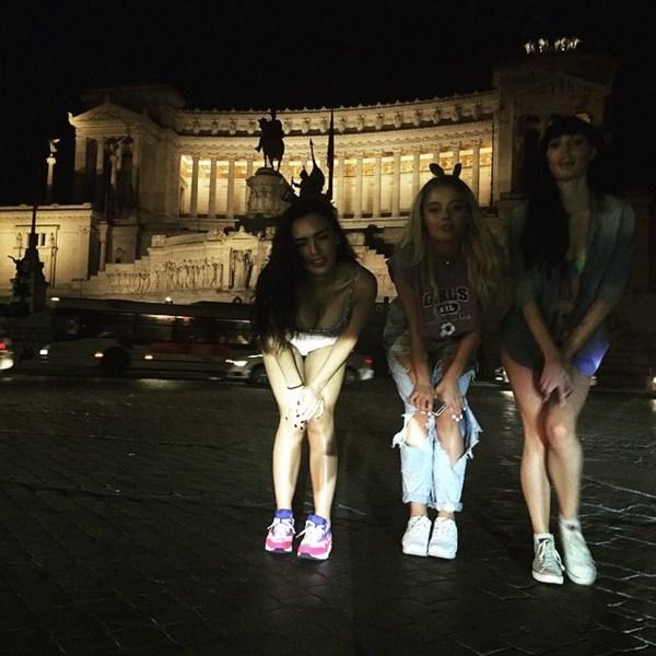 Группа «Серебро» выступила с концертом в Риме.
