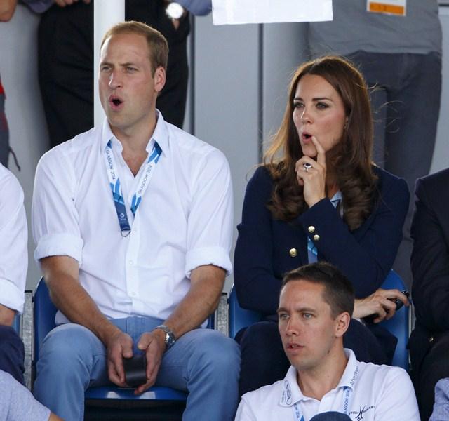 Герцог (32) и герцогиня (33) Кембриджские