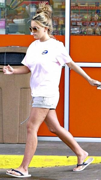Актриса и певица Джейми Линн Спирс, 24
