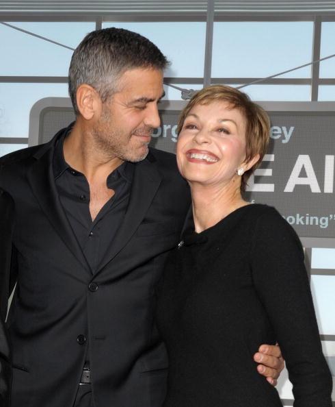 Актер Джордж Клуни (54) и Нина Брюс