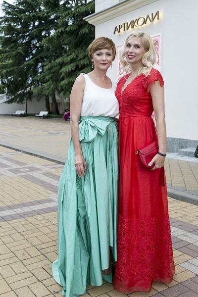 Дарья Повереннова и Алена Свиридова