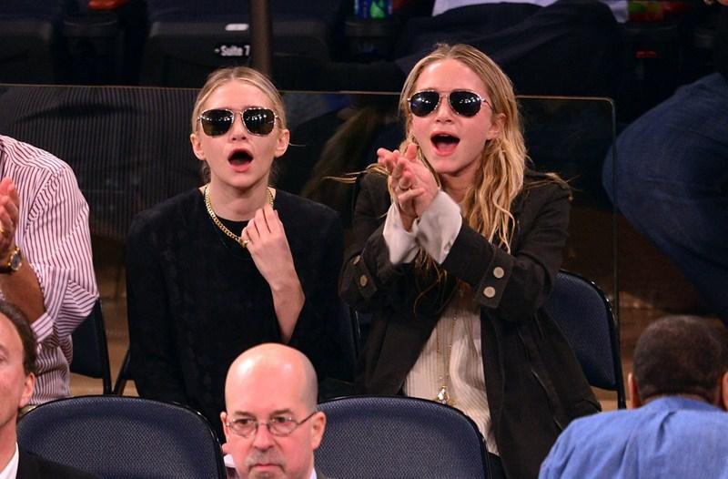 Актрисы, дизайнеры Эшли Олсен (28) и Мэри-Кейт Олсен (28)