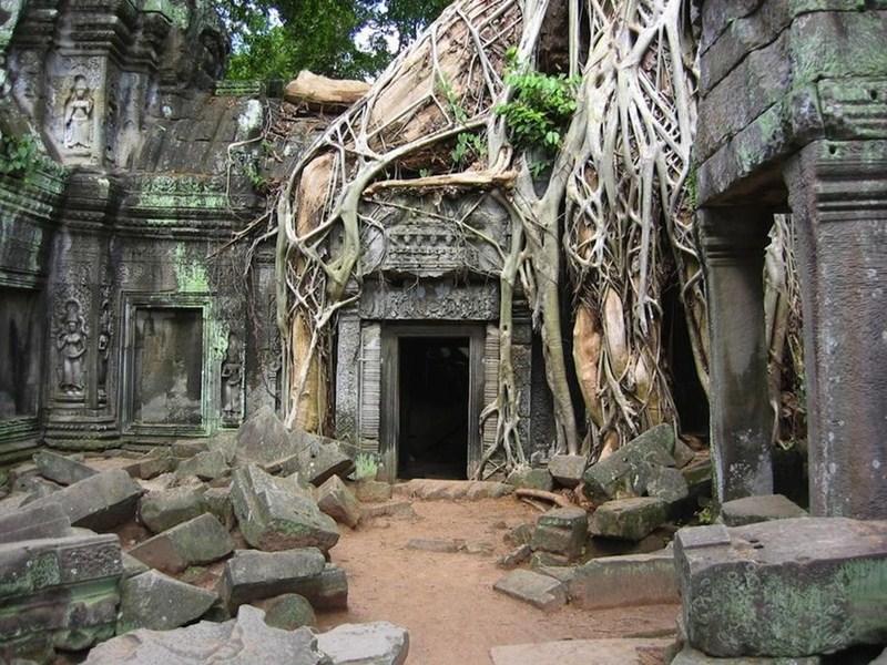 Ангкор Ват в Камбодже..