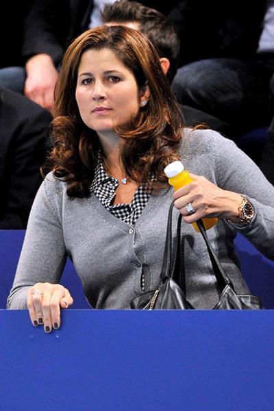 Бывшая теннисистка Мирослава Вавринец (36), супруга швейцарского теннисиста Роджера Федерера (33).
