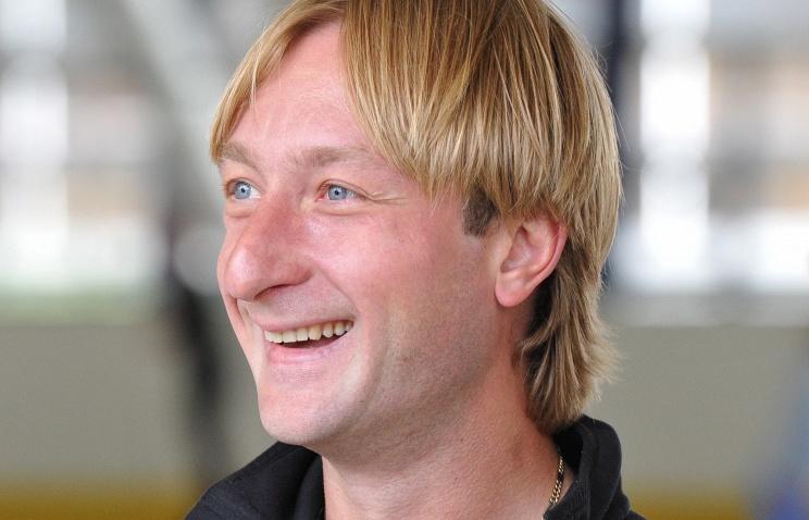 Фигурист, олимпийский чемпион Евгений Плющенко, 32