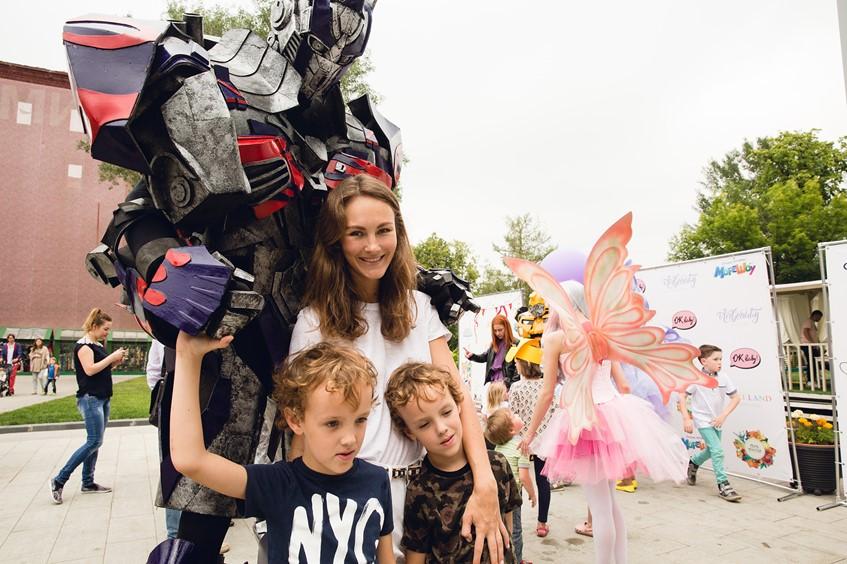 Маргарита Лиева с детьми