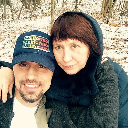 Певец Дима Билан (34) и Нина Белан