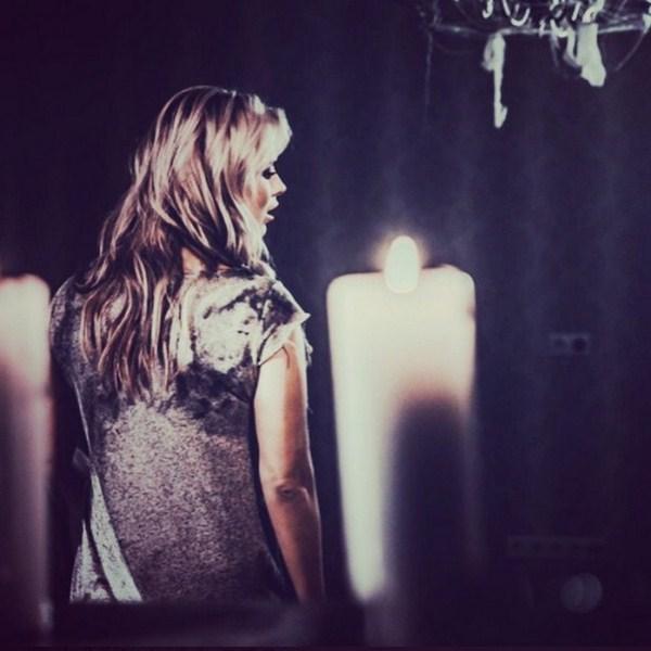 Анна Семенович снималась в своем новом клипе на песню «Отпусти».