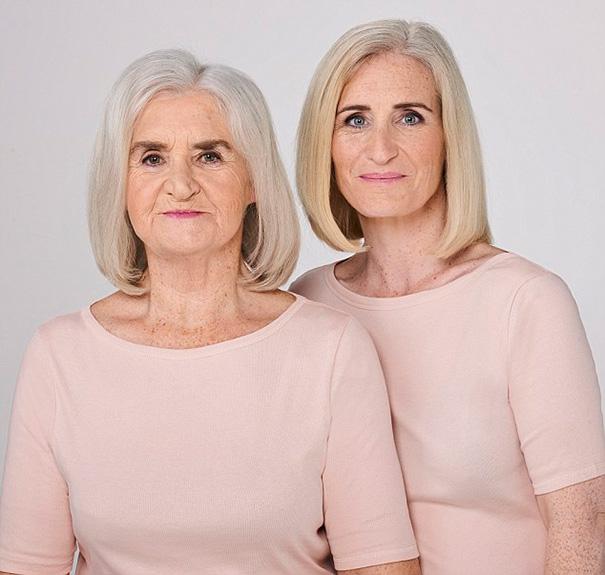 Эстер (73) и ее дочь Вэнди (43)