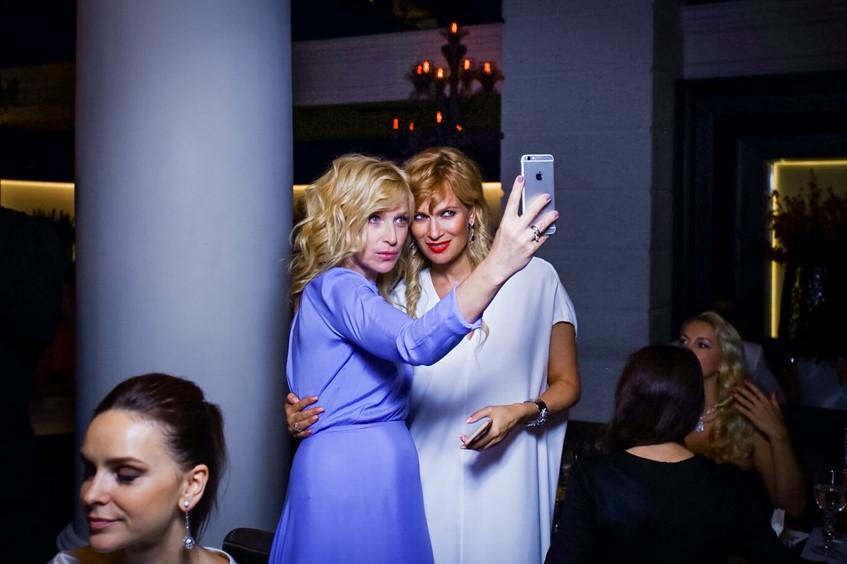 Ирина Гринева и Олеся Судзиловская