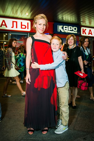 Мария Шалаева с сыном