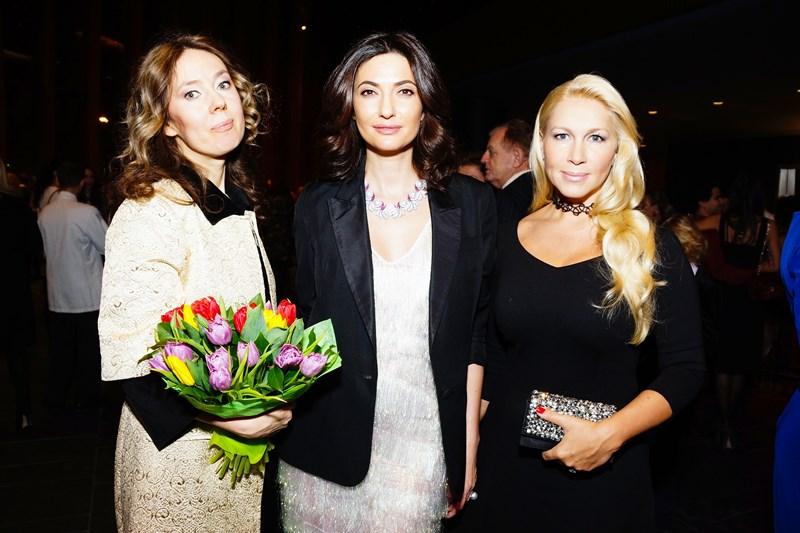 Екатерина Полозова, Снежана Георгиева и Екатерина Одинцова