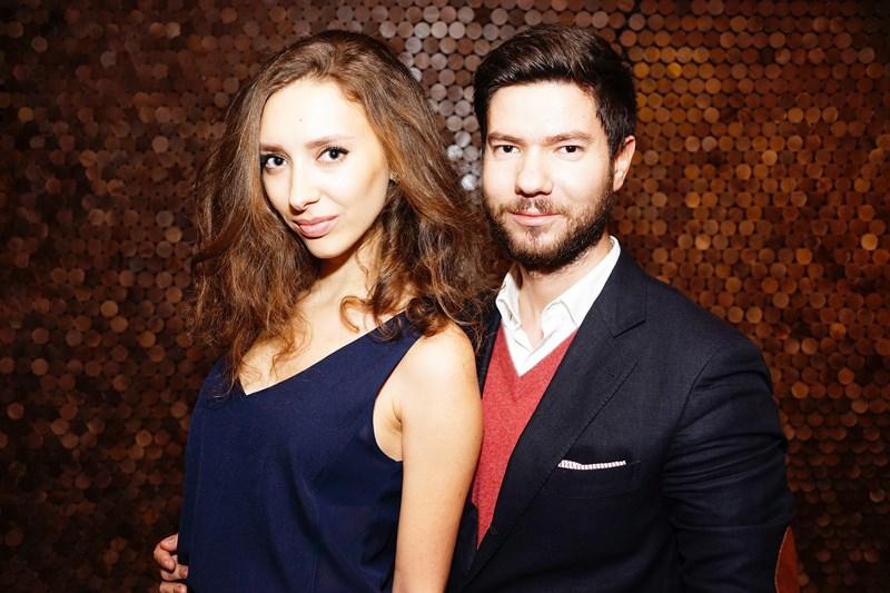 Алена Ризаева и Никита Стольский