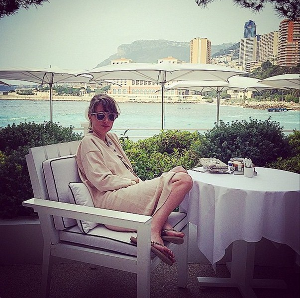 Алена Пенева расслаблялась в Монте-Карло.