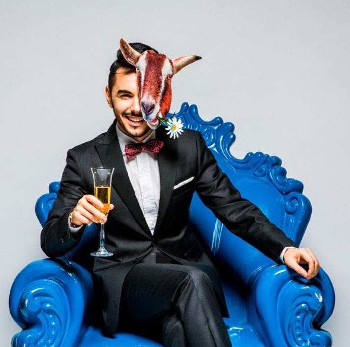 Певец, актер и телеведущий Тимур Родригез (35)