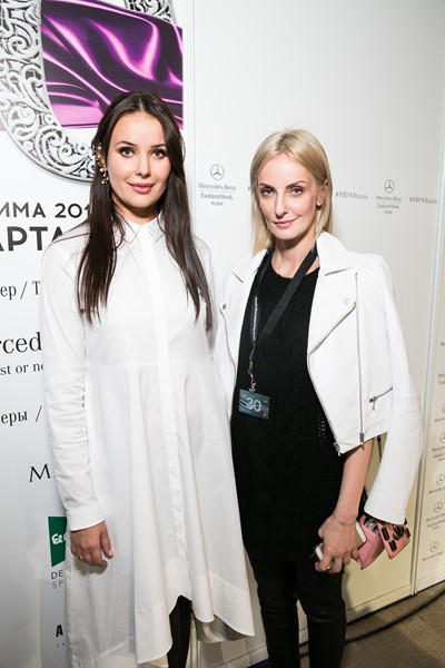 Оксана Федорова и Аннетт Хофман