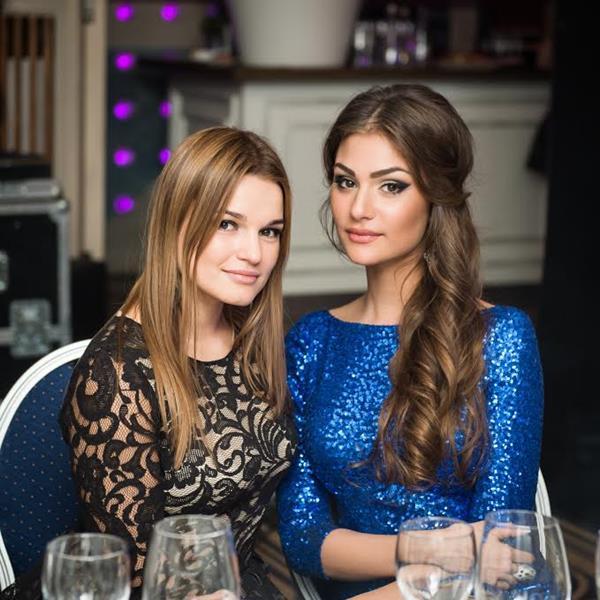 Татяна Лазовская и Настасия Шубская
