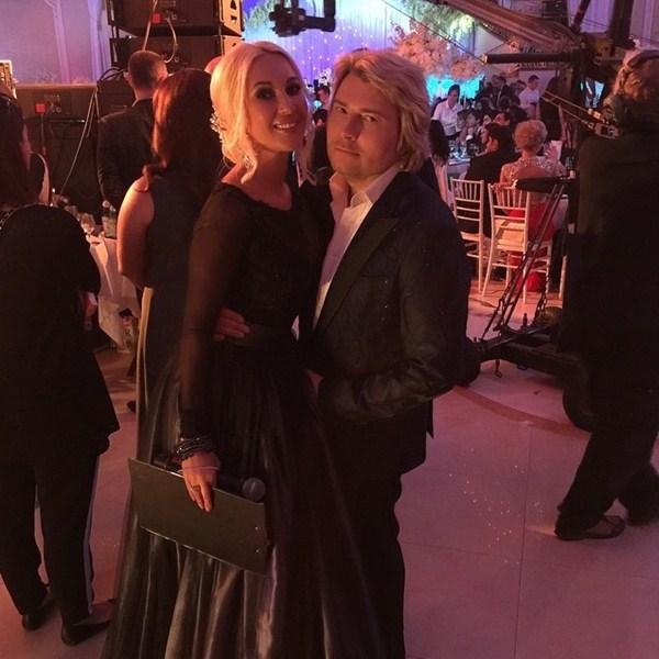 Лера Кудрявцева с Николаем Басковым вели свадьбу.