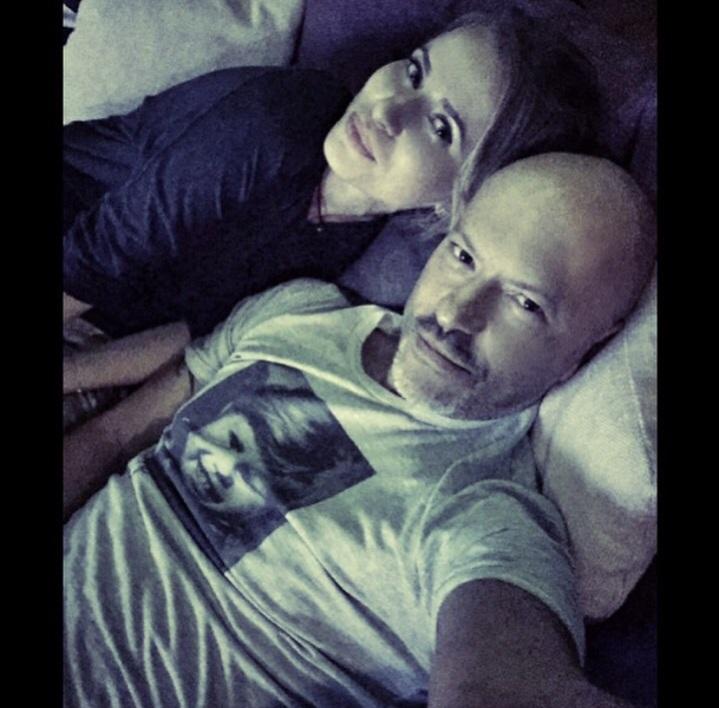 It-girl Татьяна Бондарчук (25) со своим знаменитым свекром, режиссером Федором Бондарчуком (47)