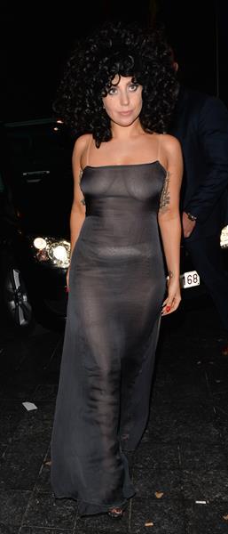 Леди Гага (28), певица