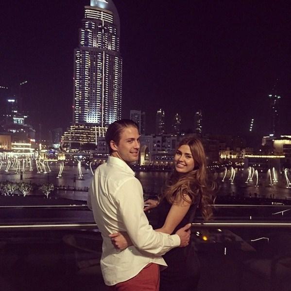 Виктория Боня с любимым наслаждались жизнью в Дубае.