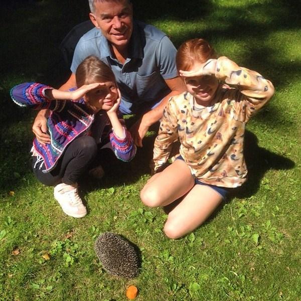 Олег Газманов отдыхал с семьей.