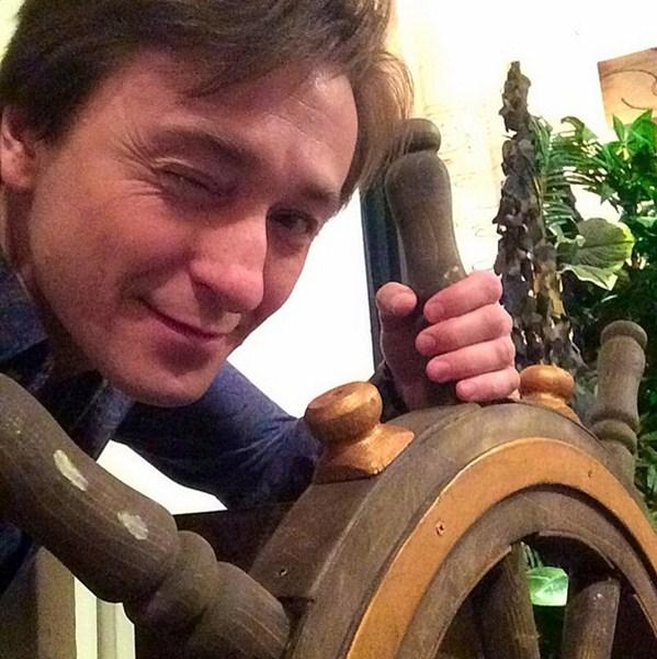 Сергей Безруков посетил солнечный Томск.