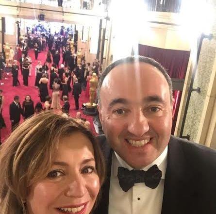 Режиссер Александр Роднянский (53)  с супругой  Валерией Роднянской