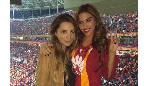 Актриса Иоланта Кабау (29), жена полузащитника футбольного клуба Galatasaray и сборной Нидерландов Уэсли Снейдера (30).