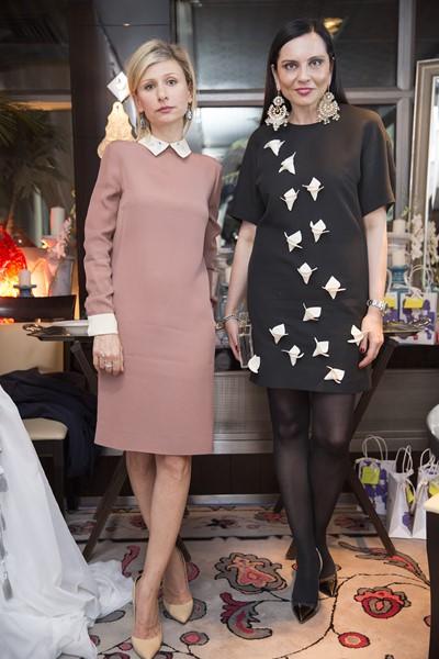 Лидия Александрова и Карина Варивода