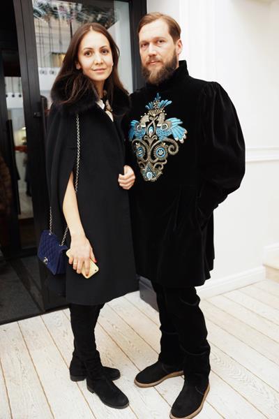 Алина Гасумянова и Петр Аксенов