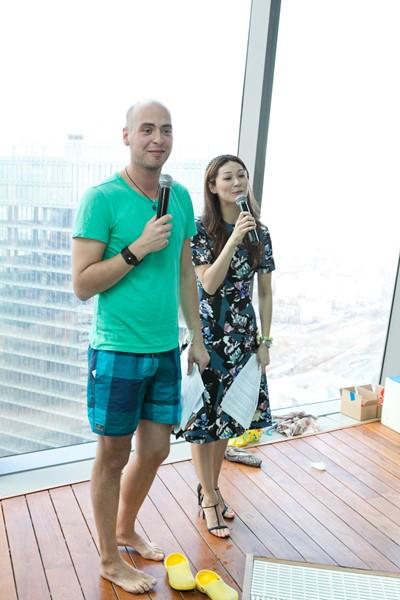 Антон Привольнов и Марина Ким