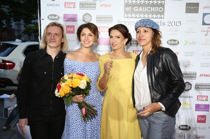 Анастасия Макеева, Эвелина Бледанс и Елена Борщева