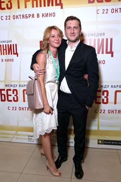 Катя Комолова и Резо Гигинеишвили