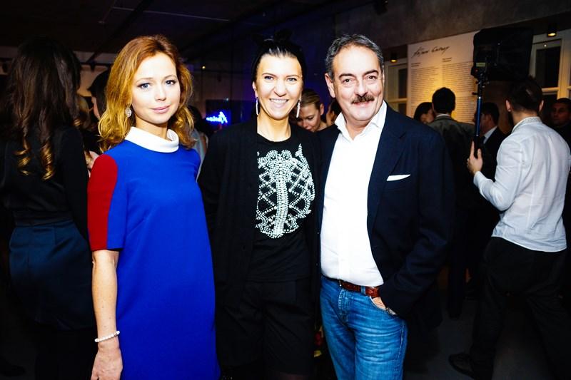 Елена Захарова, Екатерина Миледина и Александр Юдин