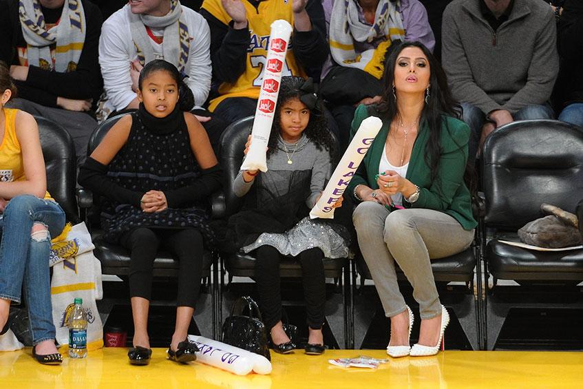 Бывшая танцовщица Ванесса (32), жена ирока баскетбольного клуба Los Angeles Lakers Коби Брайанта (36).