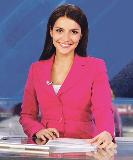 Российская телеведущая Салима Зариф, 31