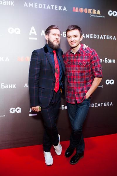 Петр Аксенов и Евгений Заболотный