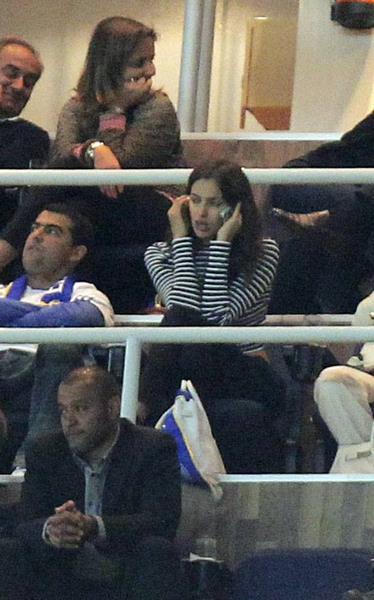 Модель Ирина Шейк (28), девушка нападающего футбольного клуба Real Madrid и сборной Португалии Криштиану Роналду (29).