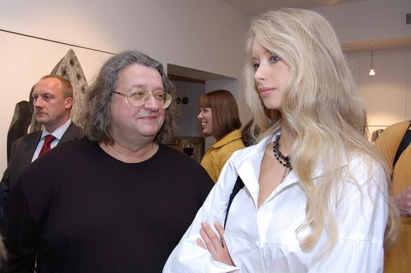 Александр Градский (65) и Марина Коташенко (31)