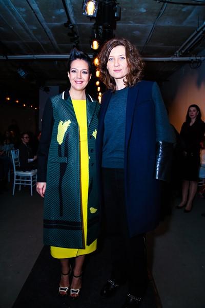 Ксения Чилингарова и Анита Гиговская